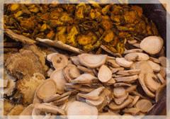 漢方の原料の写真